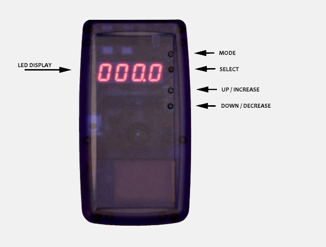 Universal Photo Timer - Top View